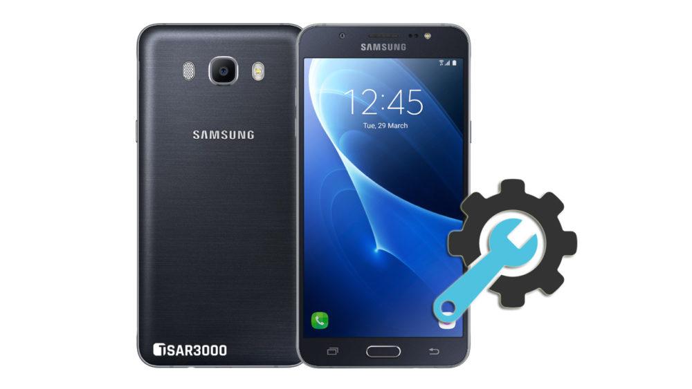 Factory Reset Samsung Galaxy J7 2016