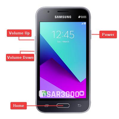 Samsung Galaxy J1 Mini Prime Hardware Keys