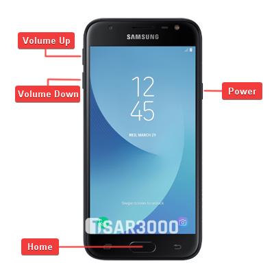 Samsung Galaxy J3 2017 - J3 Pro Hardware Keys