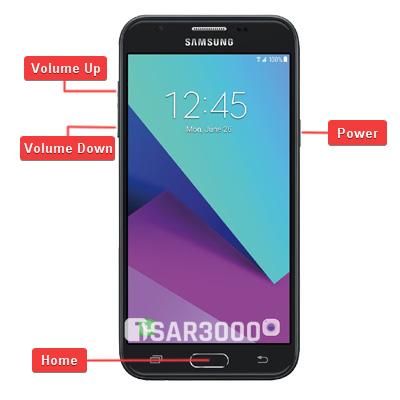 Samsung Galaxy J3 2017 SM-J327U Hardware Keys