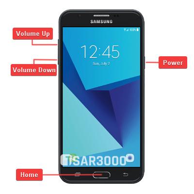 Samsung Galaxy J7 2017 SM-J727A Hardware Keys