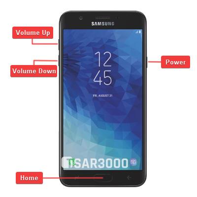 Samsung Galaxy J7 Aura SM-J737R4 Hardware keys