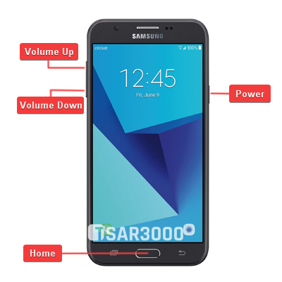 Samsung Galaxy J7 Halo Hardware Keys
