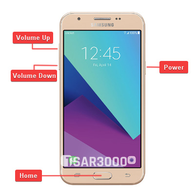 Samsung Galaxy Sol 2 SM-J326AZ Hardware Keys