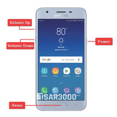 Samsung Galaxy Sol 3 SM-J336AZ Hardware Keys