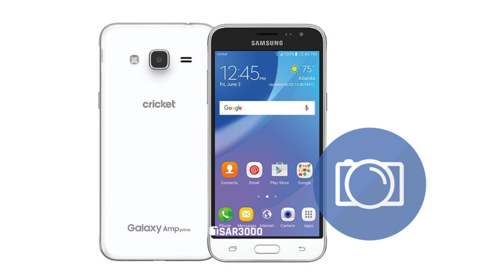Take Screenshot Samsung Galaxy Amp Prime