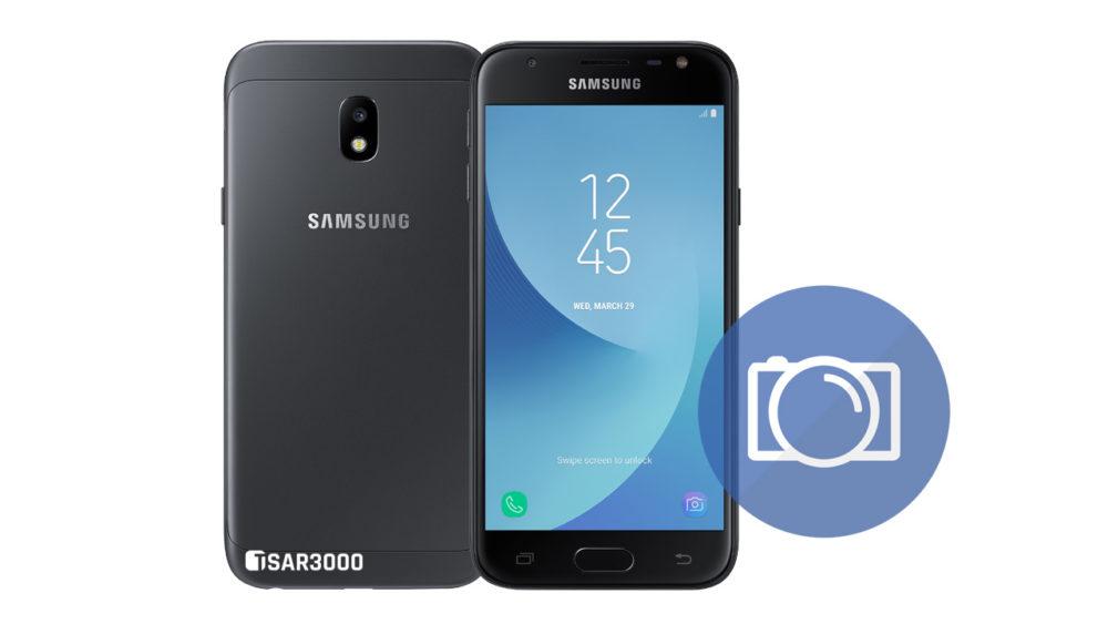Take Screenshot Samsung Galaxy J3 2017 - J3 Pro