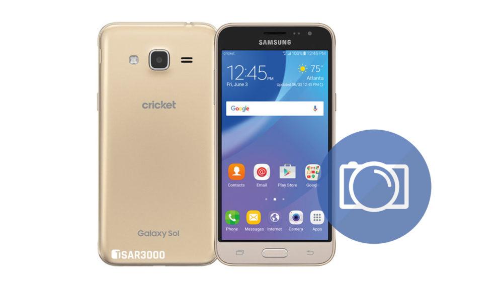 Take Screnshot Samsung Galaxy Sol SM-J321AZ
