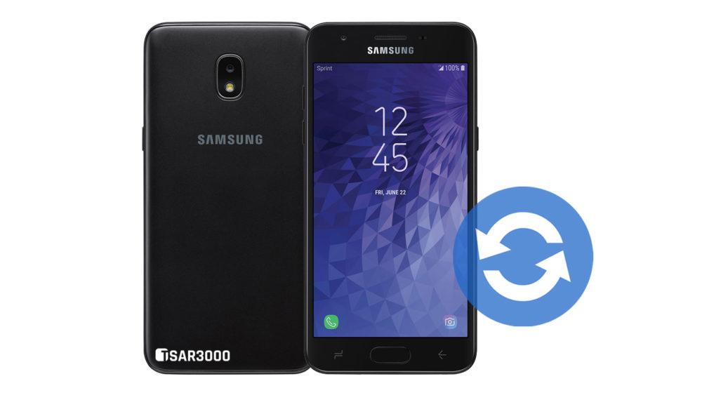 Update Samsung Galaxy J3 Achieve 2018 Software