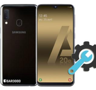 Factory Reset Samsung Galaxy A20e