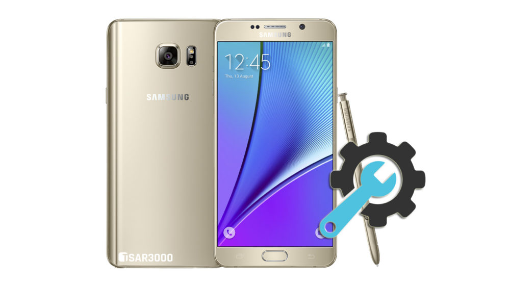Factory Reset Samsung Galaxy Note 5