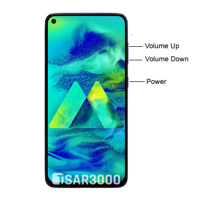 Samsung Galaxy M40 Hardware Keys
