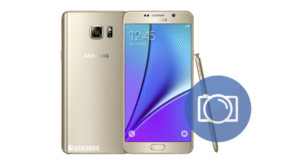 Take Screenshot Samsung Galaxy Note 5