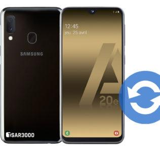 Update Samsung Galaxy A20e Software
