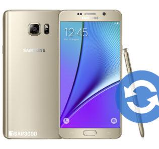 Update Samsung Galaxy Note 5 Software