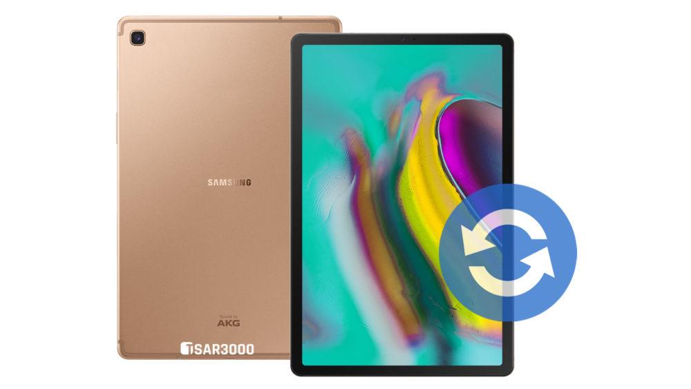 Update Samsung Galaxy Tab S5e Software