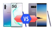 Samsung Galaxy Note 10+ 5G vs Galaxy Note8