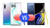 Samsung Galaxy Note10+ 5G vs Galaxy Note9