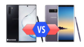 Samsung Galaxy Note 10 vs Galaxy Note 8