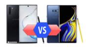 Samsung Galaxy Note10 vs Galaxy Note9