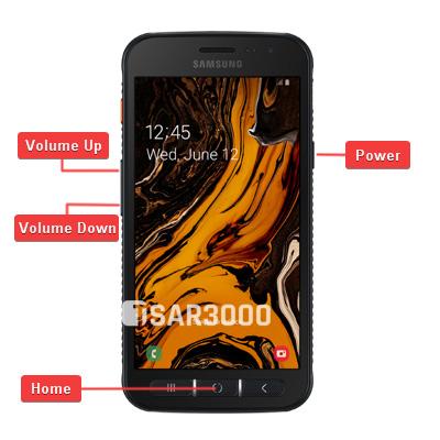 Samsung Galaxy Xcover 4S Hardware Keys