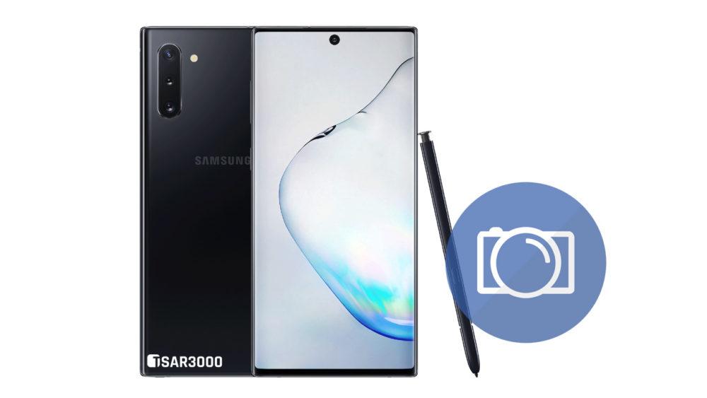 Take Screenshot Samsung Galaxy Note 10