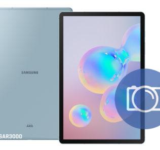 Take Screenshot Samsung Galaxy Tab S6
