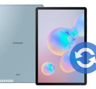 Update Samsung Galaxy Tab S6 Software