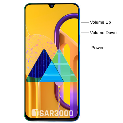 Samsung Galaxy M30s Hardware Keys