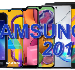Samsung Galaxy Smartphones and Tablets 2019