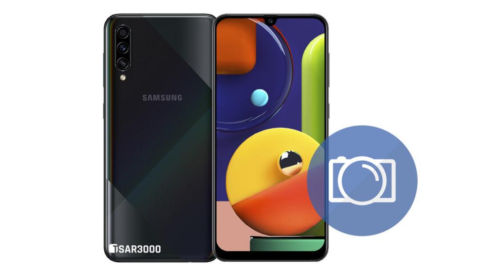 Take Screenshot Samsung Galaxy A50s