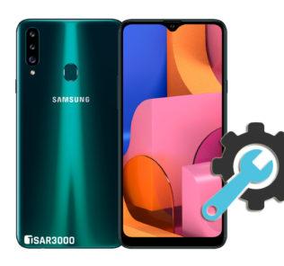Factory Reset Samsung Galaxy A20s