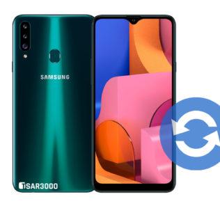 Update Samsung Galaxy A20s Software Version