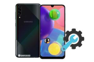 Factory Reset Samsung Galaxy A70s