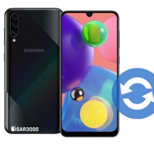 Update Samsung Galaxy A70s Software Version
