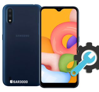 Factory Reset Samsung Galaxy A01
