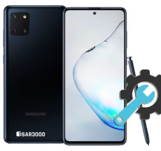 Factory Reset Samsung Galaxy Note 10 Lite