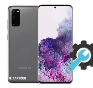 Factory Reset Samsung Galaxy S20