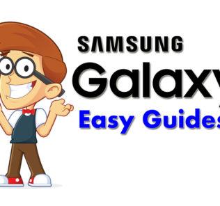 Samsung Galaxy Phones Easy Guides