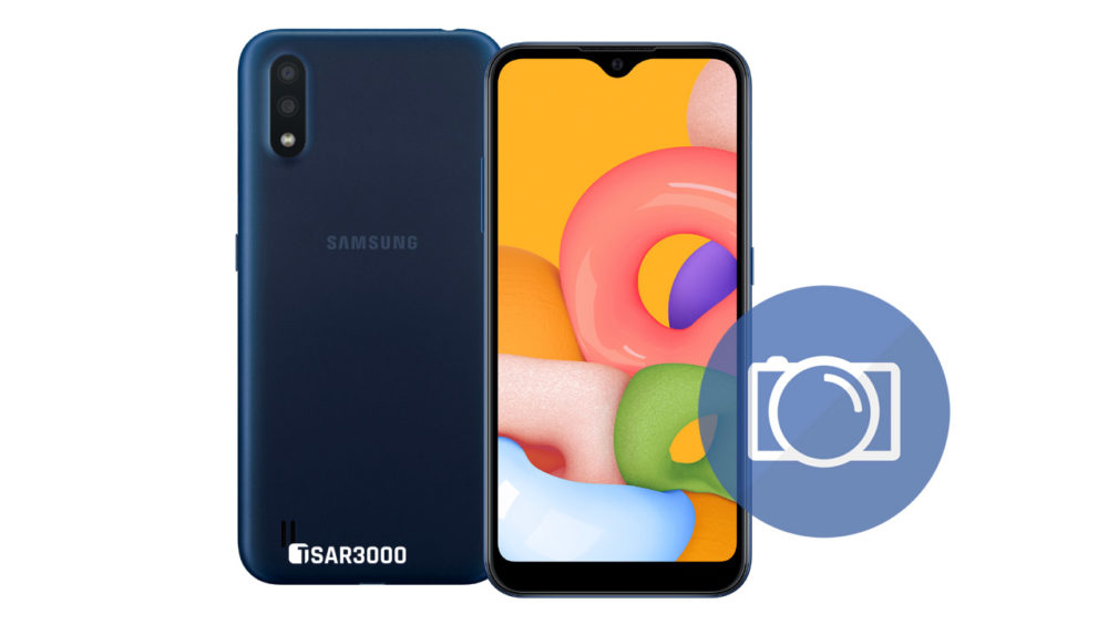 Take Screenshot Samsung Galaxy A01