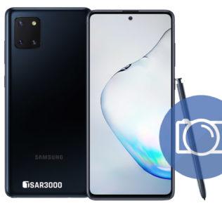 Take Screenshot Samsung Galaxy Note 10 Lite