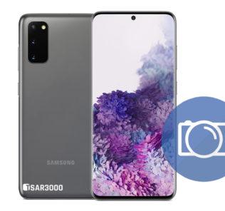 Take Screenshot Samsung Galaxy S20