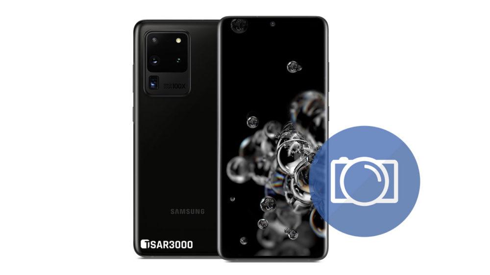 Take Screenshot Samsung Galaxy S20 Ultra
