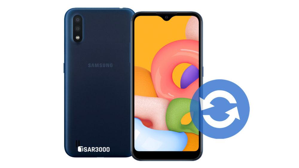 Update Samsung Galaxy A01 Software