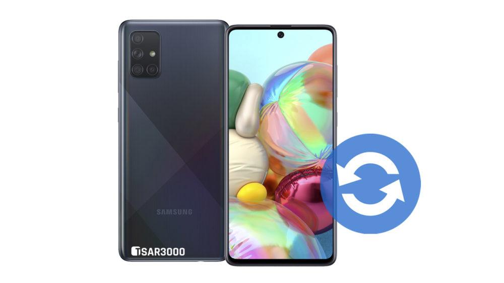 Update Samsung Galaxy A71 Software