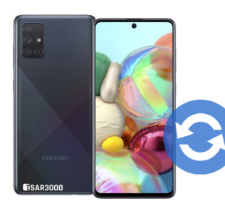 Update Samsung Galaxy A71 Software