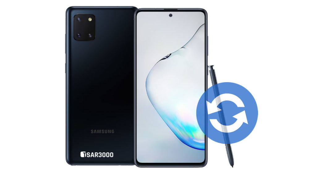 Update Samsung Galaxy Note 10 Lite Software