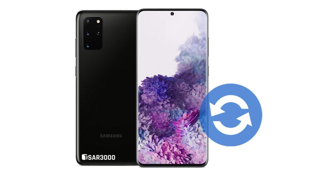 Update Samsung Galaxy S20 Plus Software