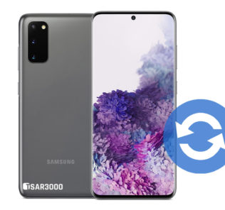 Update Samsung Galaxy S20 Software