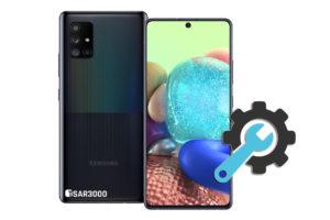 Factory Reset Samsung Galaxy A Quantum